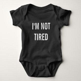 I'm Not Tired New Baby Gift Baby Bodysuit