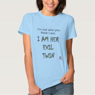 I'm not who you think I am. Shirt