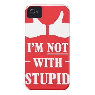 Im Not With Stupid Case-Mate iPhone 4 Case
