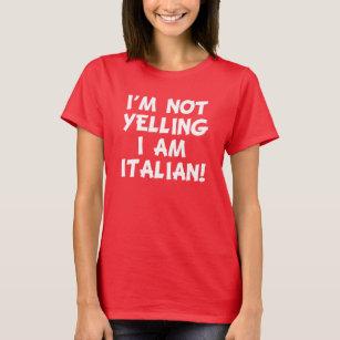 0d69d0a8d Funny Italian T-Shirts - T-Shirt Design & Printing | Zazzle