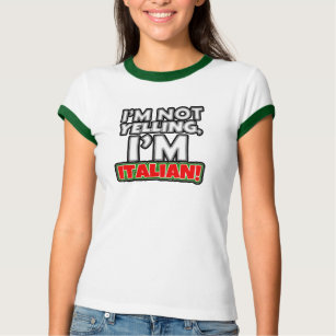 5dfe0c39 Italian Sayings T-Shirts - T-Shirt Design & Printing | Zazzle