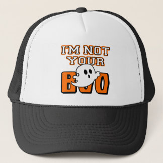 I'm Not Your Boo Halloween Ghost Hats