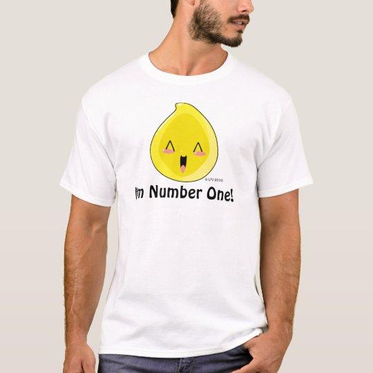 I'm Number One Chibi Pee Shirt