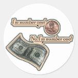 I'm Number One Sticker