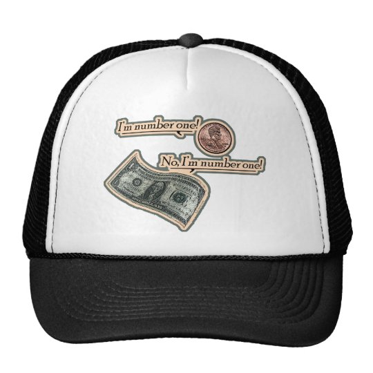 I'm Number One Trucker Hat