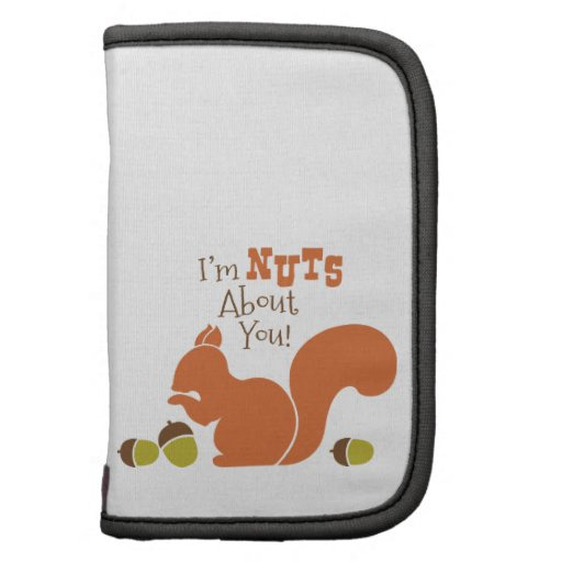 I'm Nuts About You! Folio Planners