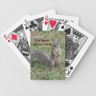 I'm Nuts About You Playing Cards