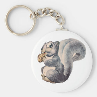 I'm Nuts Squirrel Key Chain
