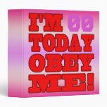 I'm - Obey Me! Funny Customize Birthday Template Binder