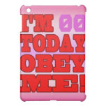 I'm - Obey Me! Funny Customize Birthday Template Cover For The iPad Mini