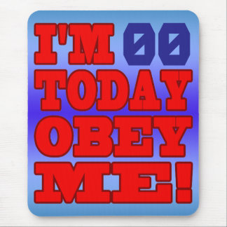 I'm - Obey Me! Funny Customize Birthday Template Mouse Pad