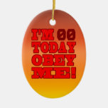 I'm - Obey Me! Funny Customize Birthday Template Ornaments