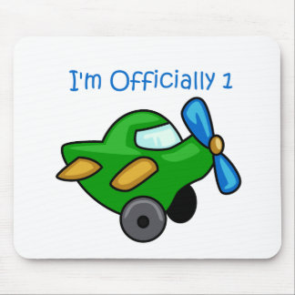 I'm Officially 1, Jet Plane Mouse Pad
