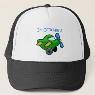 Im Officially 2 Jet Plane Trucker Hat