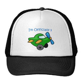 I'm Officially 3, Jet Plane Trucker Hat