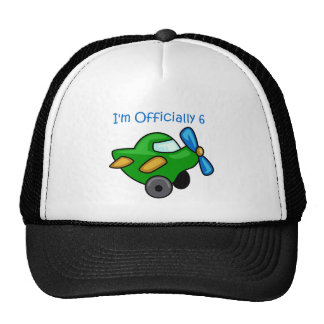I'm Officially 6, Jet Plane Trucker Hat