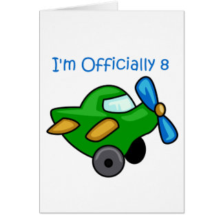 I'm Officially 8, Jet Plane Card