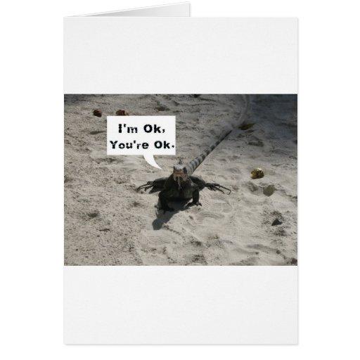 I'm OK Card