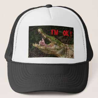I'm ok ! trucker hat