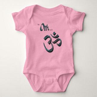 I'm Om-ish Om Symbol Aum Buddhist/Hindu Symbol Baby Bodysuit