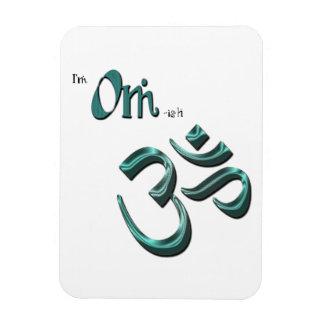 I'm Om-ish Om Symbol Aum Magnet