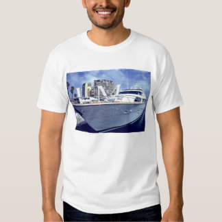 I'm on a Boat, White. Tee Shirts