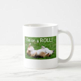 i'm on a ROLL! Classic White Coffee Mug