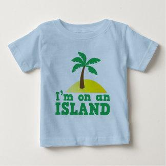 I'm on an island baby T-Shirt