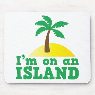 I'm on an island mouse pad