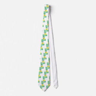 I'm on an island neck tie