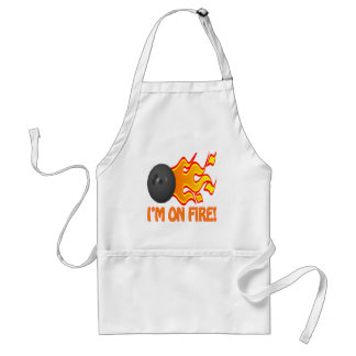 Im On Fire Adult Apron