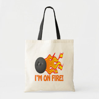 Im On Fire Canvas Bags