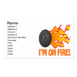 Im On Fire Double-Sided Standard Business Cards (Pack Of 100)