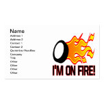 Im On Fire Business Card Templates