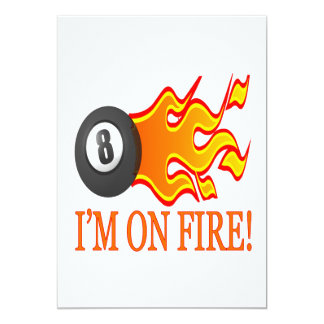 Im On Fire Card
