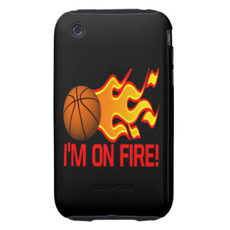 Im On Fire iPhone 3 Tough Cases