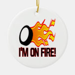 Im On Fire Christmas Tree Ornament