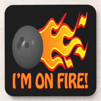 Im On Fire Drink Coaster