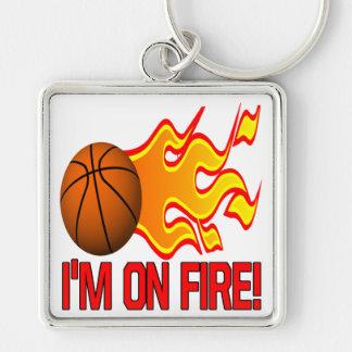 Im On Fire Keychain