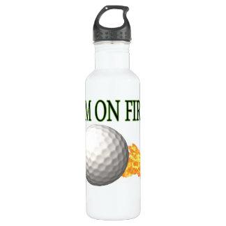 Im On Fire 24oz Water Bottle