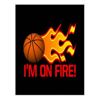 Im On Fire Postcard