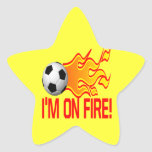 Im On Fire Sticker