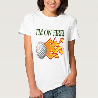 Im On Fire Tee Shirt