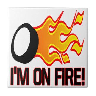 Im On Fire Tile