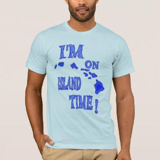 I'm on island time-blue T-Shirt