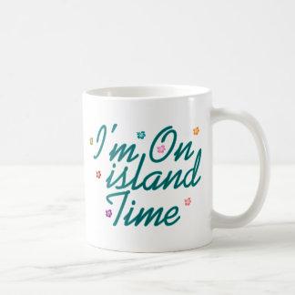 Im on island time coffee mug