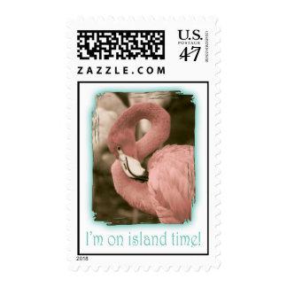 I'm on Island Time Postage