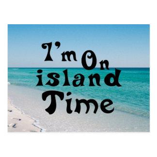 Im on island Time Postcard
