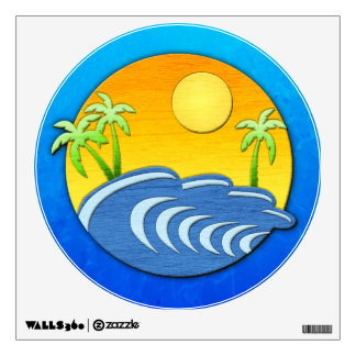 I'm On Island Time Wall Decal