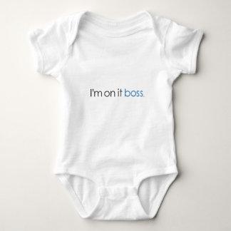 I'm on it boss baby bodysuit